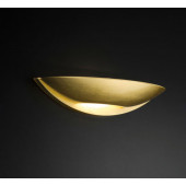 Maya Länge 27 cm weiß 1-flammig oval