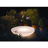 Lounge Variation Outdoor, E27, Höhe 18 cm, Ø 84 cm, inkl Glasplatte