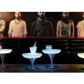 Lounge M 45 LED Pro Accu, Farbwechsel, Höhe 45 cm, Ø 60 cm, Fernbedienung