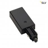 Einspeiser für 1-Phasen HV-Stromschiene, schwarz