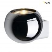 Light Eye Ball, chrom/weiß