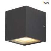 Sitra Cube Höhe 11,5 cm anthrazit 2-flammig quaderförmig