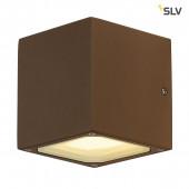 Sitra Cube Höhe 11,5 cm rostfarben 2-flammig quaderförmig