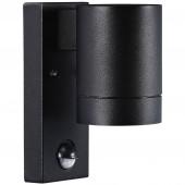 Tin Maxi, GU10, IP54, mit Bewegungsmelder, schwarz