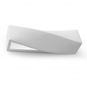 Sigma Länge 42 cm weiß 2-flammig eckig
