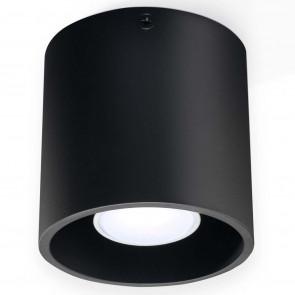 Orbis 1 Ø 10 cm schwarz zylinderförmig
