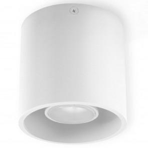 Orbis 1 10x 10 x 10 cm weiß 1-flammig rund