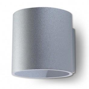 ORBIS 1 Wandleuchte Grau