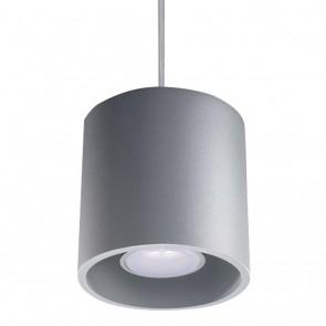 ORBIS 1 Pendelleuchte Grau