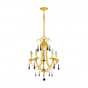 Fiorenza Luster, 24 Karat Gold,  E14, 0057.85.3.Bk