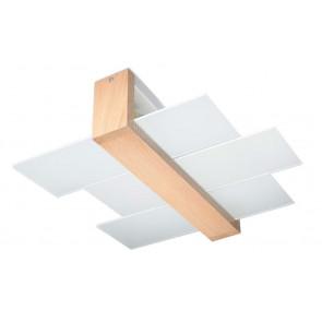 Feniks 2 43 x 43 cm weiß 1-flammig viereckig
