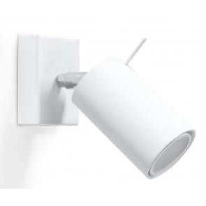 RING Wandleuchte Weiß
