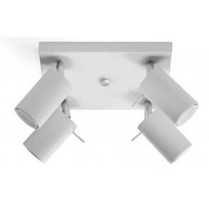 RING 4 Plafond Weiß