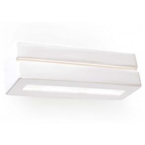 Vega Line Breite 32 cm weiß 2-flammig quaderförmig