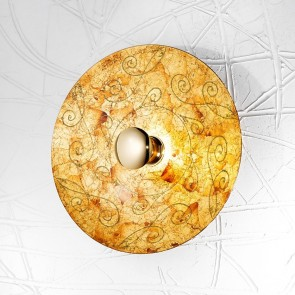 Luna WL, 24 Karat Gold, Glas, E27, 0331.61XL.V1.3