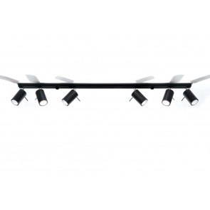 RING 6L Plafond Schwarz