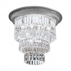 Milord Crystal DL, Chrom, Kristall, E27+E14, 1+0346.14L.5