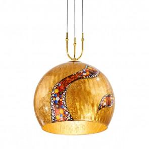 Luna PL, 24 Karat Gold, Glas, E27+GU10, 0392.31+1XL.3.Ki.Au, Kiss Gold