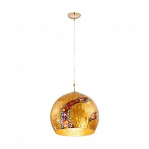 Luna PL, 24 Karat Gold, Glas, E27, 0392.31L.3.Ki.Au, Kiss Gold