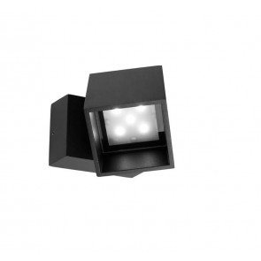 Cubus, 10 x LED, 11W, IP65, anthrazit