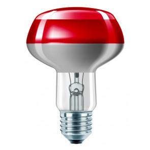 Partylampe Reflektor farbig, E27, 1000 Std, dimmbar, 60W, rot