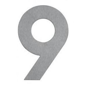 Hausnummer 9, Edelstahl