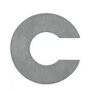 Buchstabe c, Edelstahl