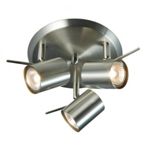HYSSNA LED Ceiling 3L IP21 Steel