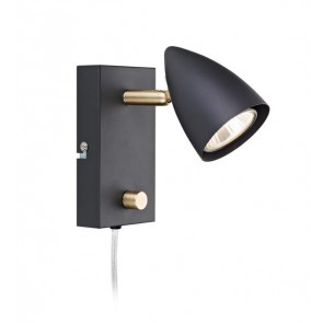 CIRO Wall 1L Black/Brass