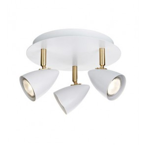 CIRO Ceiling 3L White/Brass