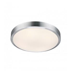 MOON Plafond 39 cm White/Aluminium IP44
