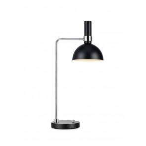 Larry Höhe 65 cm schwarz-chrom 1-flammig rund