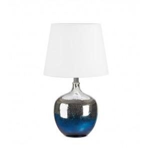 Ocean Höhe 58 cm blau-anthrazit 1-flammig rund