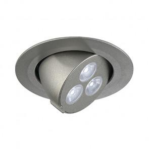 Triton 3 Gimble Ø 9,1 cm metallisch 3-flammig rund