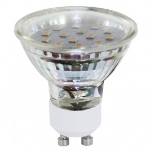 EGLO LM-GU10-SMD LED 3W 3000K 2ER-SET