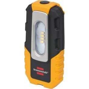 4 LED Akku-Handleuchte HL DA 40 MH 220lm, Haken, Magnet, Clip, knickbar