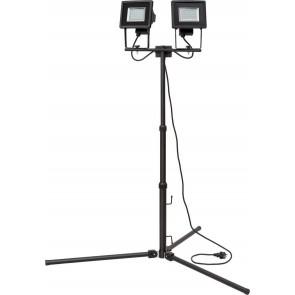 Stativ-SMD-LED-Leuchte SL DN 2405 DUO IP44 2m 2x 24x 0,5W H05RN-F3G1,0