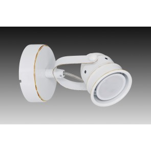 1er LED Wand-u Deckenspot