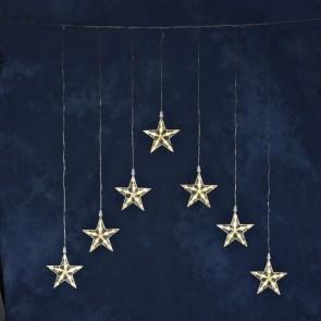 LED Lichterkette 7 Sterne