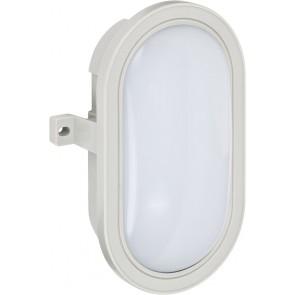 LED-Ovalleuchte L DN 3002 IP44 grau 5,5W 460lm EEK A+