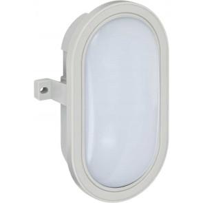 LED-Ovalleuchte L DN 5402 IP44 grau 10W 800lm EEK A+