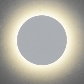 Eclipse Round 350, Gips weiß, 1 x 13W LED, Ausfü
