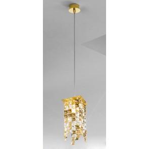 Prisma PL, 24 Karat Gold, Kristall, G9, 1314.31MQ.3.KpTGn