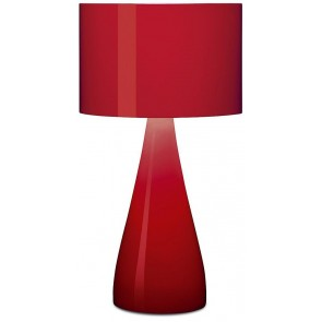 Vibia Jazz, Höhe 40 cm, rot glänzend