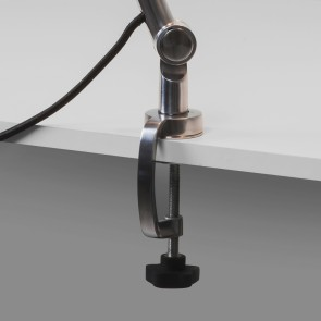 Atelier Clamp 4568 Aluminium poliert