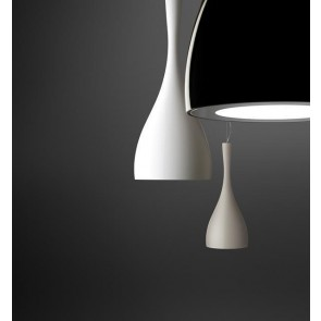 Vibia Jazz, Höhe 64 cm, schwarz glänzend