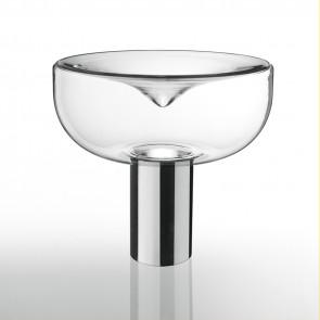 Aella Table E27 Transparent Chrome