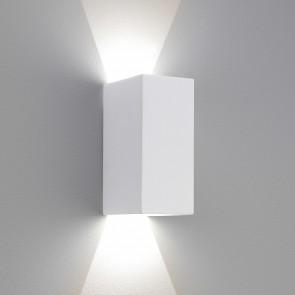 Astro Parma LED 160, weißer Gips,überstreichbar, 2 x 3