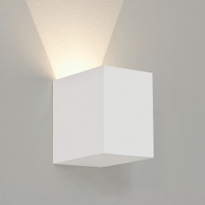 Parma LED 100, weißer Gips, überstreichbar, 1x 3