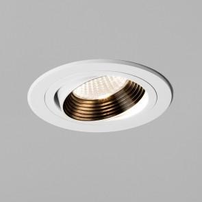 Einbaustrahler Aprilia Round Fire Rated, weiß, 1 x LED 7W,